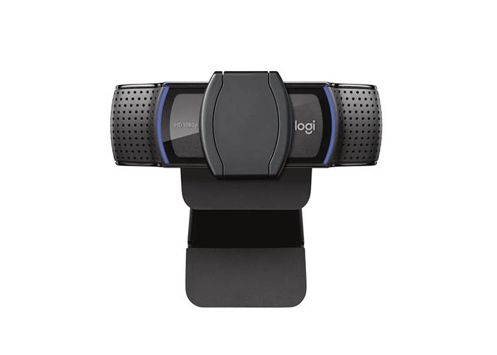 Logitech-C920e-FullHD-Webcam-right-side-view-privacy-shutter-closed