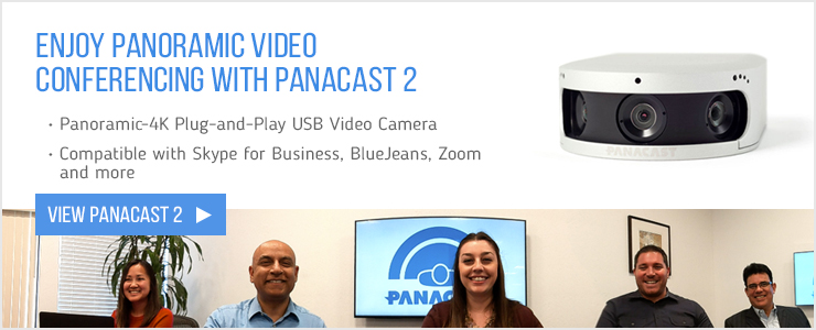 PanaCast 2 USB Panoramic Camera