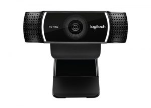 Logitech-C922-Pro-Stream-FullHD-Webcam-front-view